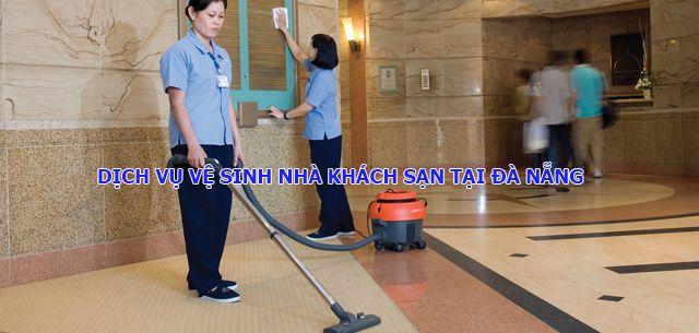 Dịch vụ vệ sinh khách sạn, nhà hàng tại Đà Nẵng