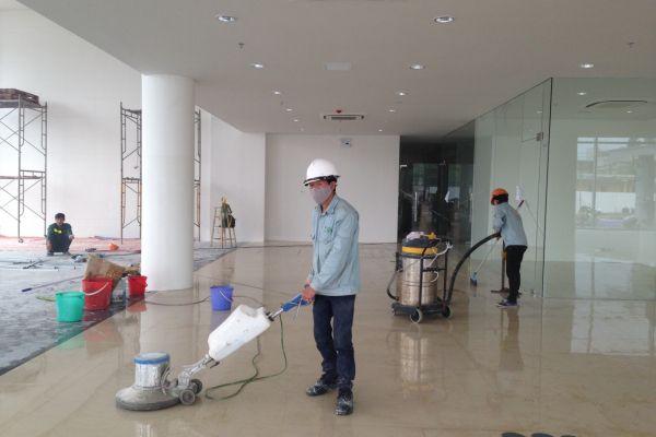 Máy chà đánh sàn công nghiệp tại Kon Tum