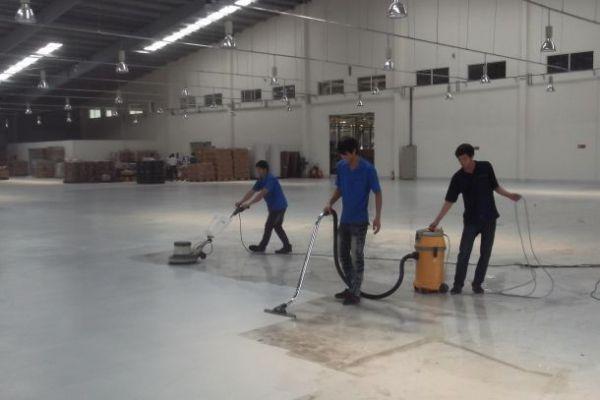 Dịch vụ vệ sinh công nghiệp tại Quảng Ngãi