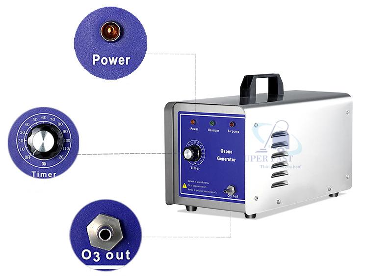 máy khử mùi ozone qla-3g