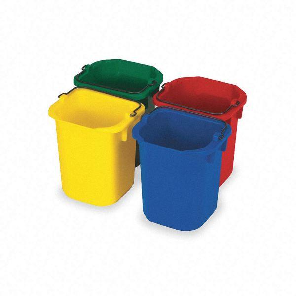 Thùng nhựa vệ sinh nhiều màu