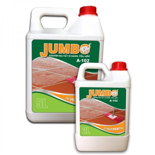 Hoá chất tẩy xi măng, vữa, mốc JUMBO A-102