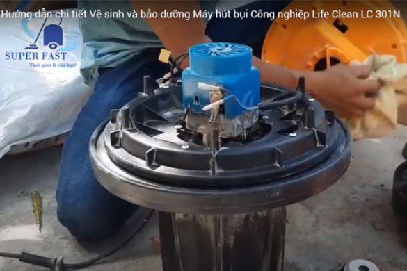 Vệ sinh máy hút bụi công nghiệp
