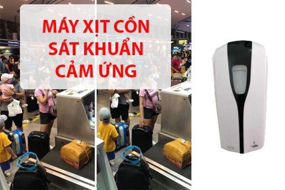Máy xịt cồn sát khuẩn cảm ứng tại Đà Nẵng