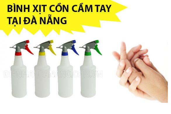 Bình xịt cồn cầm tay tại Đà Nẵng