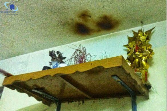 Mẹo hay xử lý tường bị ám khói hiệu quả nhất