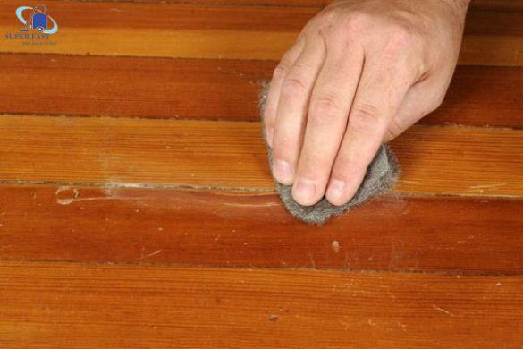 Những mẹo hay nhất để xử lý vết xước sàn gỗ