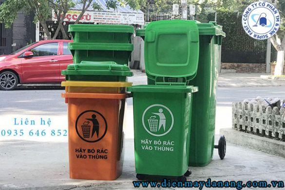 Top 3 loại thùng rác nhựa tại Quảng Nam phổ biến hiện nay