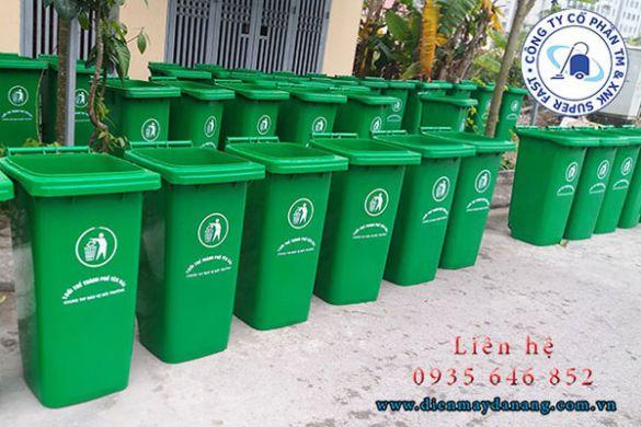 Ngỡ ngàng cơ sở cung cấp thùng rác tại Quảng Ngãi giá quá rẻ