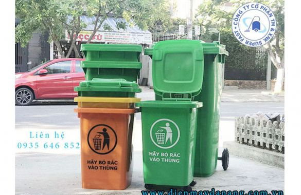 Nên mua thùng rác tại Quy Nhơn - Bình Định giá tốt ở đâu
