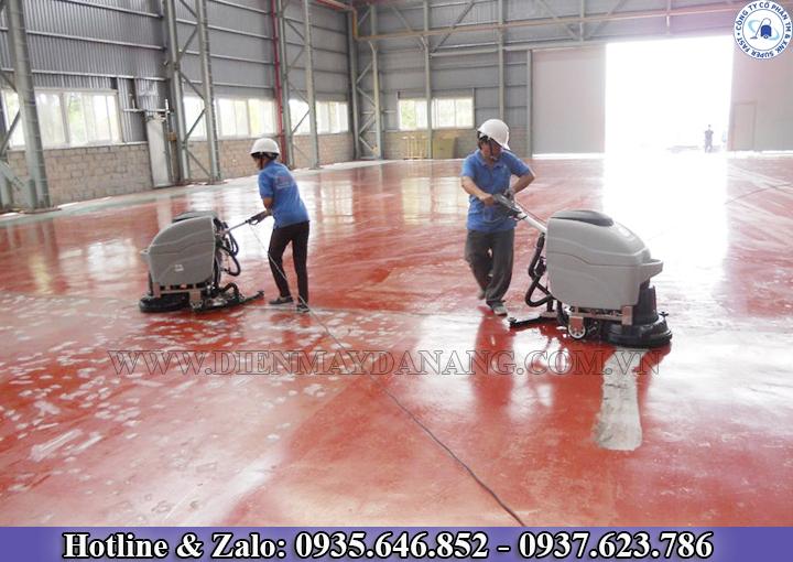 Máy lau sàn công nghiệp tại đà nẵng