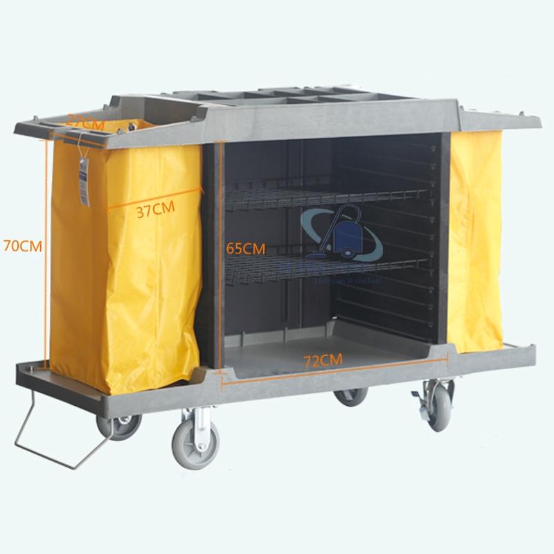 Xe đẩy dọn dẹp thực phẩm HT-08159