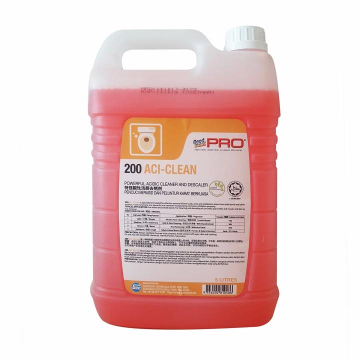 Hóa chất tẩy rửa vết bẩn cứng đầu Goodmaid PRO GMP 200 ACI-CLEAN