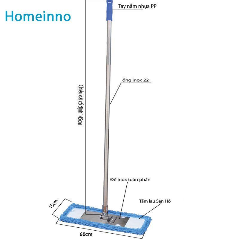 Cây lau sàn Homeinno sợi San Hô 60cm