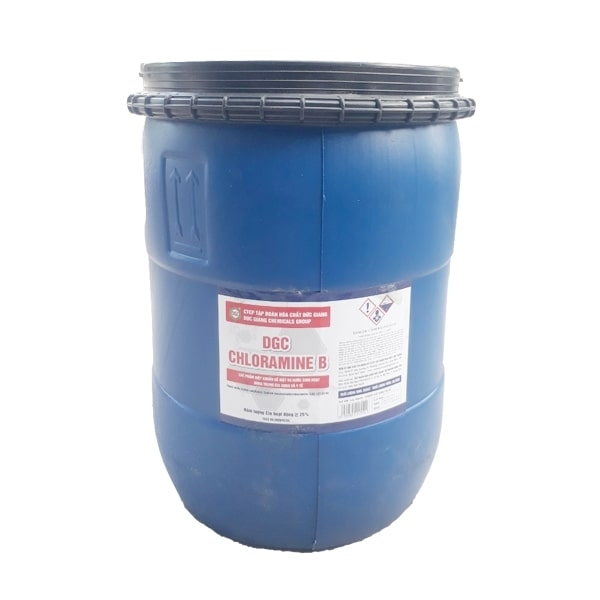 Hóa chất khử trùng Cloramin B Việt Nam 25Kg