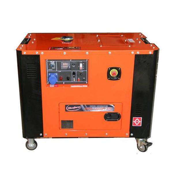 Máy phát điện chạy dầu VinaFarm VNPD-12000P1-ATS