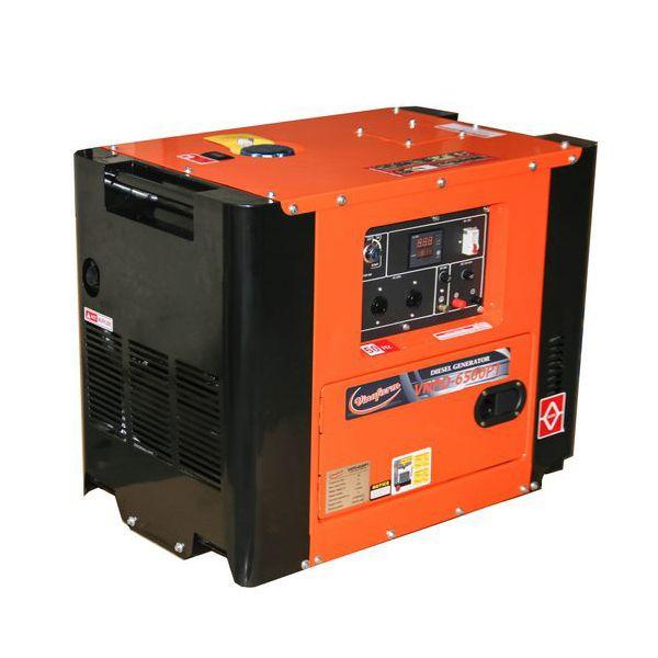 Máy phát điện chạy dầu VinaFarm VNPD-6500P1