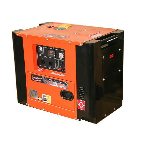 Máy phát điện chạy dầu VinaFarm VNPD-9500P1
